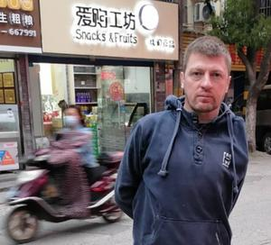 Westmeath man Cathal Kelly, a language teacher in the city of Wuxi