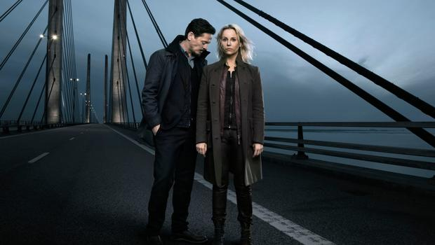 Sofia Helin and Thure Lindhart star in The Bridge