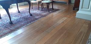 At Florence Court in Fermanagh, the big task this month is polishing the Venetian floor