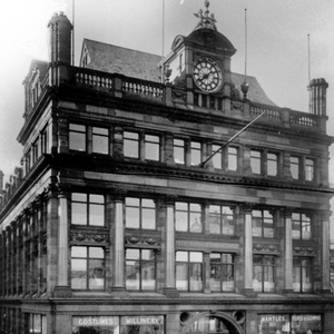 The store in the past