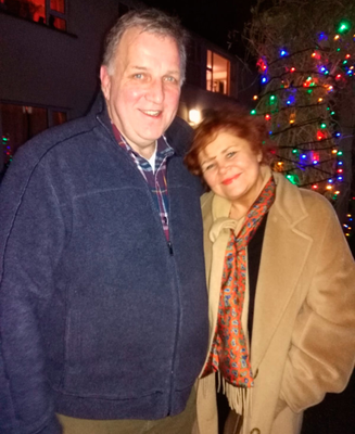 Barrie Elkin and his wife Sharon