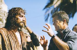 Mel Gibson working on Passion of the Christ