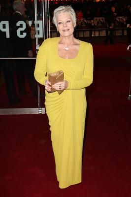 Big influence: Julia was enraptured by actors like Judi Dench on stage
