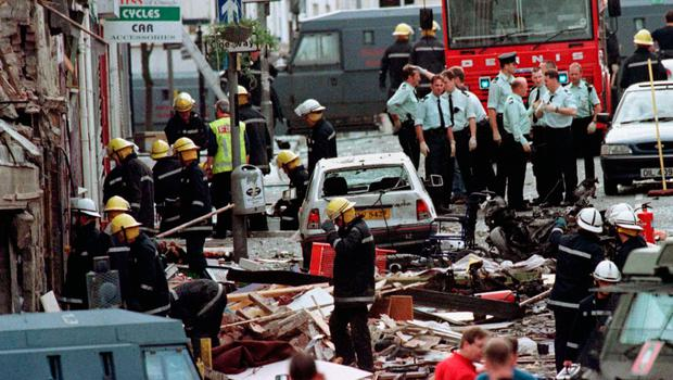 Sheer horror: the aftermath of the Omagh bomb