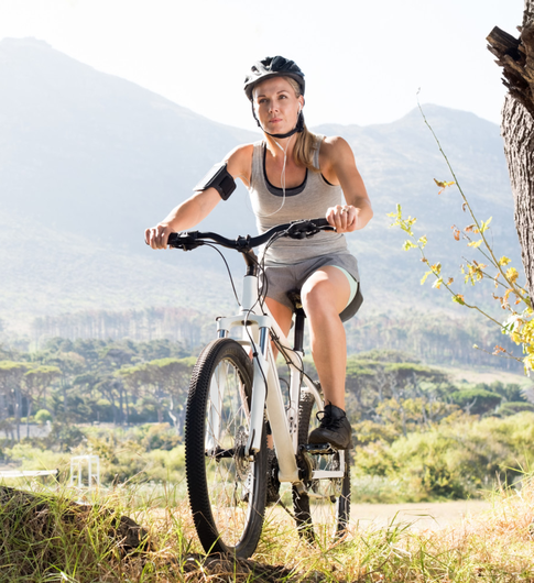 Top gear: cycling is good for mental and physical health