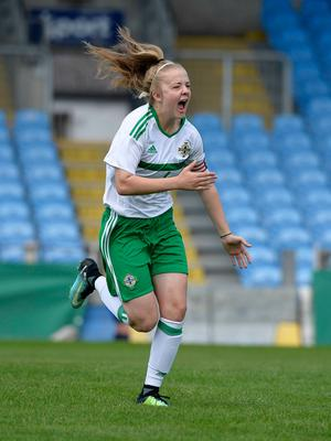 Captain's role: Emma McMaster will lead Northern Ireland's U19s