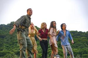 Horror show: Austin Stowell, Portia Doubleday, Lucy Hale, Maggie Q and Jimmy O Yang