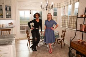 Dynamic duo: Kerry Washington as Mia Warren and Reese Witherspoon as Elena Richardson in Little Fires Everywhere