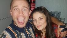 Boxing clever: Carl and Christine Frampton
