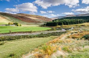 College Valley in Northumberland National Park