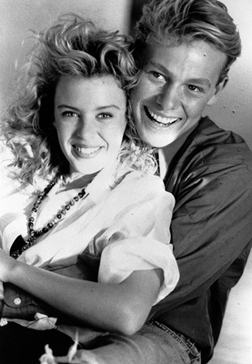 Kylie Minogue and Jason Donovan back in 1988