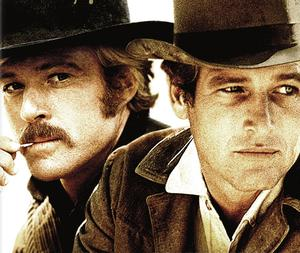 Paul Newman and Robert Redford