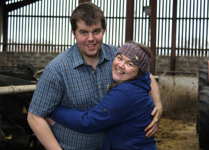 Farm life: farmers Andrew and Margaret Little