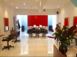 The extra space in Joanna McCartney's salon is proving beneficial