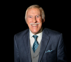 Bruce Forsyth who had to pull out of the show