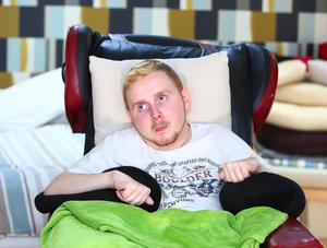 Declan McMullan who has Locked-In-Syndrome