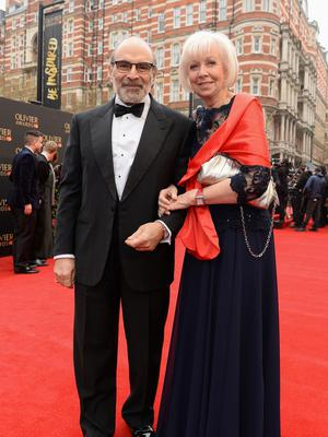 Dedicated couple: David Suchet with his wife Sheila