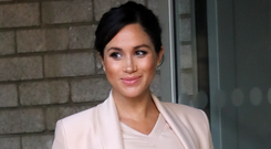 Strong stance: Meghan Markle
