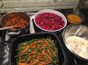 Home comforts: some of Louise's cooking