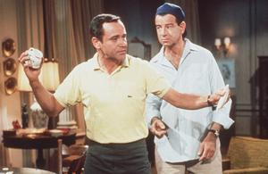 Opposites attract: Felix and Oscar in The Odd Couple