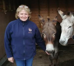 Special place: Lorraine Nelson at The Donkey Sanctuary in Templepatrick
