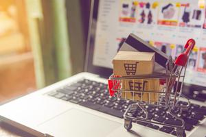 Home delivery: online shopping has seen a big rise since March