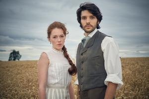 Colin with Charlotte Spencer in The Living And The Dead