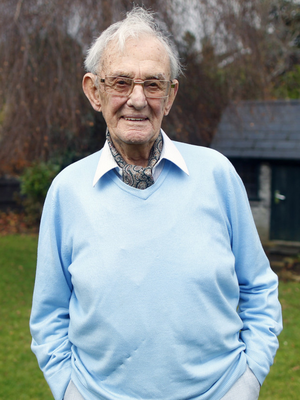 Philip Ball, from Templepatrick, who served in the Royal Navy during the Second World War and endured the Arctic Convoy. Photo: Peter Morrison