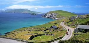 The Wild Atlantic Way, which stretches along the coast of Donegal to west Cork