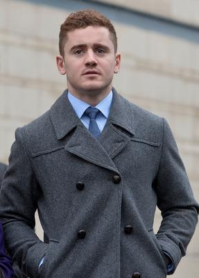 Paddy Jackson at Laganside Courthouse