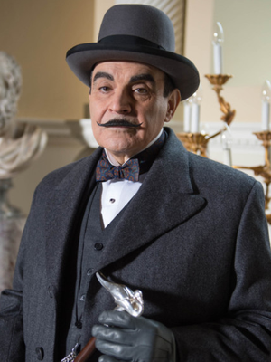 Timeless appeal: David Suchet as the Belgian detective