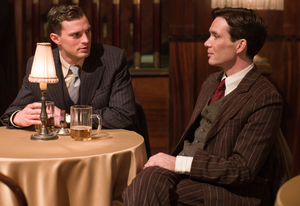Terrifying tale: Cillian and Jamie Dornan in Anthropoid