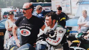 Liam Beckett with Robert Dunlop