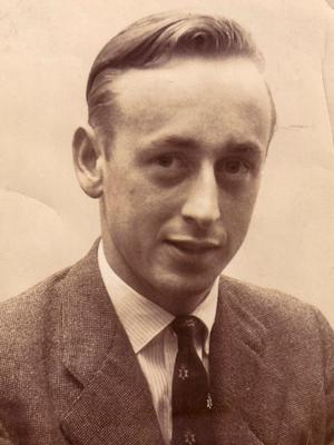 Walter when he was a young man