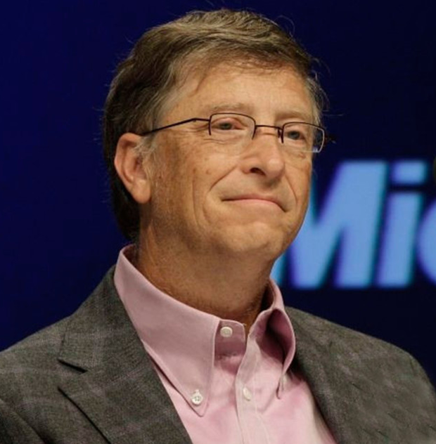 Billionaire philanthropist Bill Gates is a big backer of Rotary
