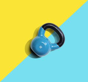 So versatile: kettlebells are easy to adapt to your routine