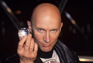 Crystal gains: Richard O'Brien on the show