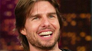 Tom Cruise wore braces