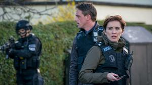 DI Kate Fleming and DS Chris Lomax in the first episode of the new series