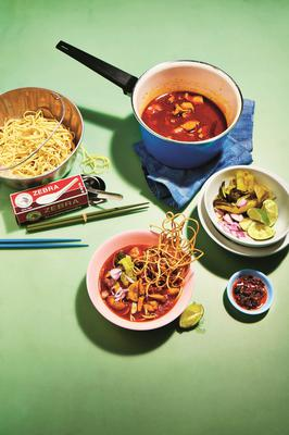 Chiang Mai Curried Noodles, from Kay Plunkett-Hogge's new book