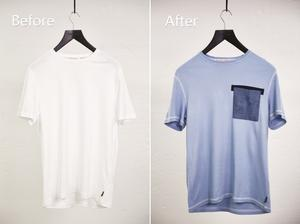 Upcycling an old white t-shirt to something new