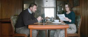 Lesley Manville and Liam Neeson as a married couple in Ordinary Love