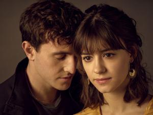 Young love: Daisy Edgar-Jones and Paul Mescal in Normal People