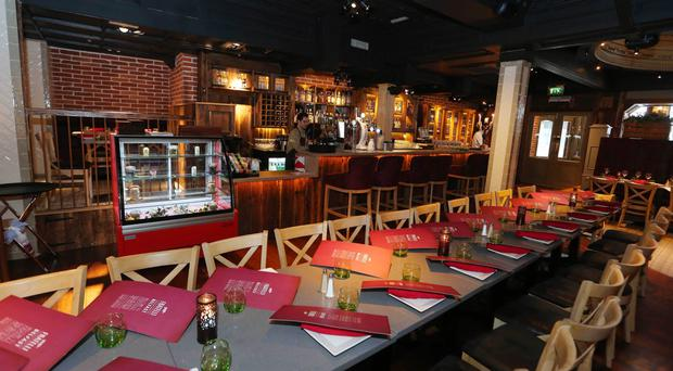 Italian job: Fratelli Ristorante just opened last month in Belfast