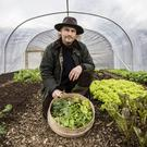 David Love Cameron, who has turned The Walled Garden at Helen's Bay into a successful market garden, is behind one of Northern Ireland's food stories