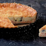 Steven Doherty's smoked salmon and leek quiche