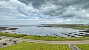 Natural beauty: The view of Portballintrae Bay and beyond from 11 Ballintrae House