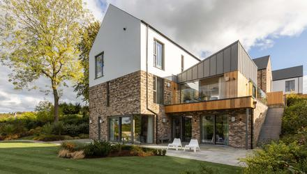 In the swim: 7 Twisel Brae Lane is a stunning c.4,000 sq ft property