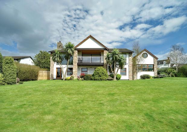 The property is an ultra-modern family home with high spec interior and mesmerising views.