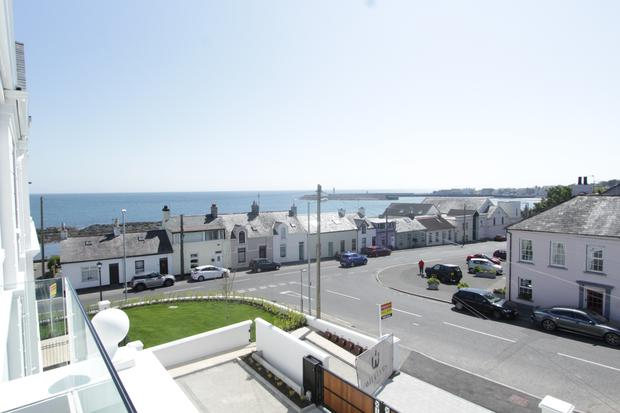 Five elegant apartments and two penthouses are on offer in Donaghadee.